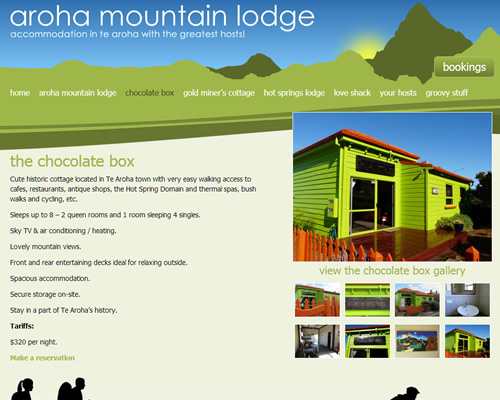 Te Aroha Mountain Lodge