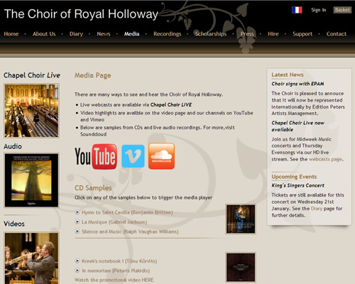 The Choir of the Royal Holloway