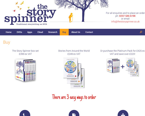 The Story Spinner